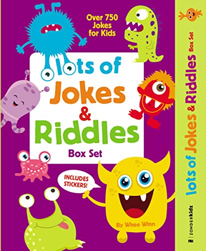 Lots of Jokes and Riddles Box Set: Over 750 Jokes for Kids b