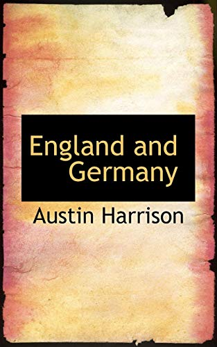 England-and-Germany-by-Harrison-Austin-New-9780559458163-Fast-Free-Shipping