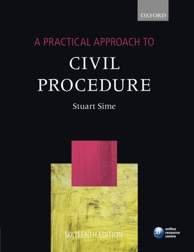 A-Practical-Approach-to-Civil-Procedure-By-Stuart-Sime-9780199678716