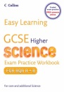 Easy Learning - GCSE Science Exam Practice Workbook for AQA A+B: Higher