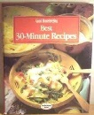 Good Housekeeping Best 30-minute Recipes (Good Housekeeping Cookery Club)