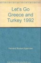 Let's Go Greece and Turkey 1992