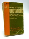 A Dictionary of Famous Quotations (Piper)
