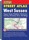 Philip's Street Atlas West Sussex (Philip's Street Atlases)