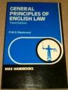 General Principles of English Law (Handbook)