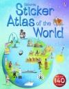 Usborne Sticker Atlas of the World (Usborne Sticker Atlases)