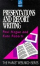 Presentations and Report Writing (Market Research)