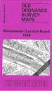 Manchester (London Road) 1849: Manchester Sheet 34 (Old O.S. Maps of Manchester)