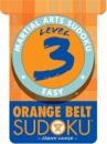 Level 3 Orange Belt Sudoku (Martial Arts Sudoku)