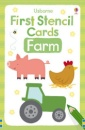 First Stencil Cards: Farm (Usborne First Stencil Cards)