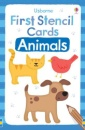 First Stencil Cards: Animal (Usborne First Stencil Cards)