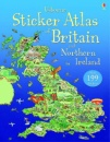 Usborne Sticker Atlas of Britain and Northern Ireland (Usborne Sticker Atlases)