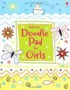 Usborne Doodle Pad for Girls (Usborne Activity Pads)
