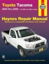 Haynes Toyota Tacoma Automotive Repair Manual (Haynes Repair Manual)