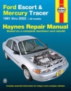 Haynes Ford Escort & Mercury Tracer 1991 Thru 2002: All Models (Haynes Repair Manual)
