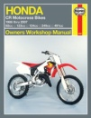 Haynes Honda CR Motocross Bikes Owners Workshop Manual (Haynes Owners Workshop Manuals)