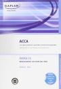 F2 Management Accounting MA: Exam Kit