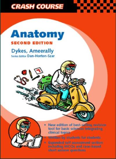 Anatomy Mosbys Crash Course Series By Michael Dykes 9780723432470