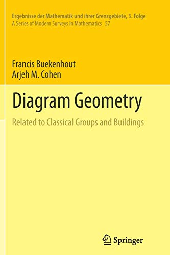 Diagram Geometry   Related To Classical Groups
