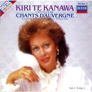 Kiri Te Kanawa: Canteloube: Chants d'Auvergne, Vol. 1