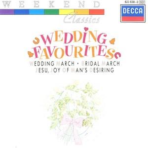 Wedding Favourites: Wedding March, Bridal March, Jesu, Joy Of Man's Desiring etc