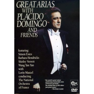 Great Arias With Placido Domingo & Friends [DVD] [2008]
