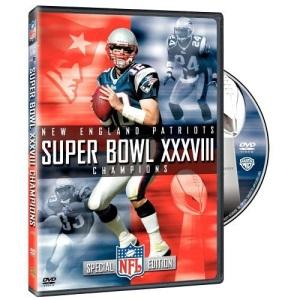 NFL Super Bowl Xxxviii [DVD] [Region 1] [US Import] [NTSC]