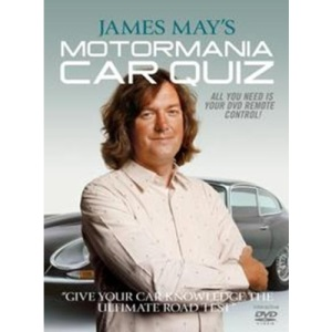 James May's Motor Mania Car Quiz - Interactive DVD Game ( MotorMania ) [Interactive DVD]