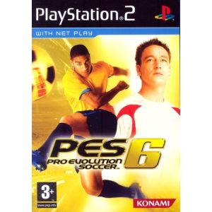 Pro Evolution Soccer 6 (PS2)