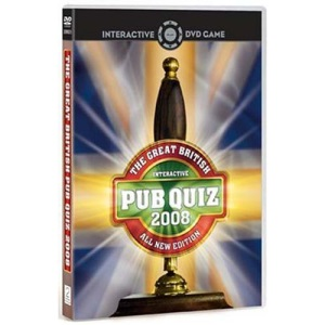 The Great British Pub Quiz - All New 2008 Edition [Interactive DVD]