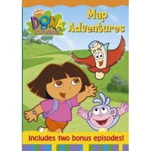 Dora The Explorer: Dora's Map Adventure [DVD]
