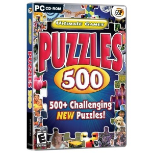 Ultimate Games Puzzles 500 (PC)
