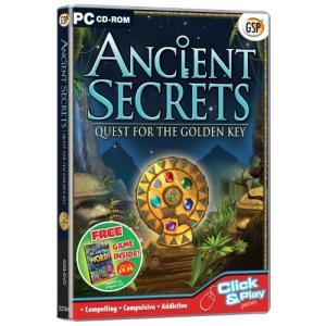Ancient Secrets Quest for the Golden Key (PC CD)