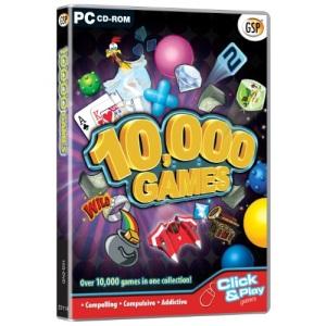 10,000 Games (PC CD)