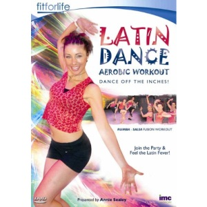 Latin Dance Aerobic Workout - Dance off the Inches - A Salsa / Rumba Fusion - Annie Sealey - Fit for Life Series [DVD]