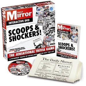 Daily Mirror Scoops And Shockers [Interactive DVD]