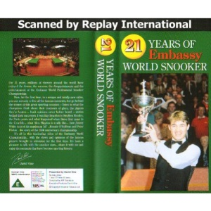 21 Years of Embassy World Snooker (Video Tap/PAL)