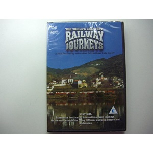 The World's Greatest Railway Journeys Portugal DVD NEW Documentary Travel
