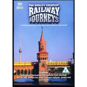The World's Greatest Railway Journeys Germany DVD NEW Documentary Travel