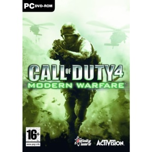 Call of Duty 4: Modern Warfare (PC DVD)