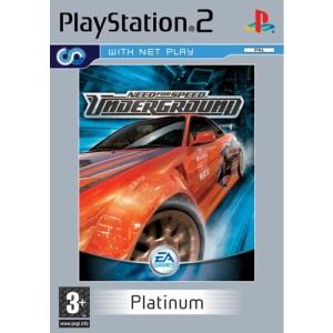 Need for Speed Underground Platinum (PS2)