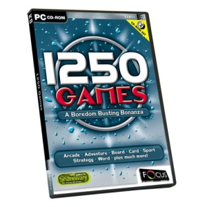 1250 Games (PC CD)