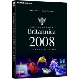 Encyclopaedia Britannica 2008 Ultimate Edition (PC DVD ROM)