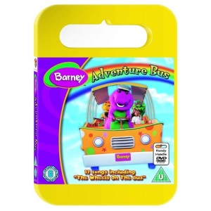Barney - Adventure Bus (Carry Case) [DVD]