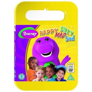 Barney - Happy, Mad, Silly, Sad (Carry Case) [DVD]