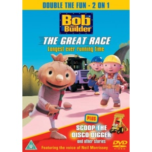 Bob The Builder - The Great Race / Scoop The Disco Digger [DVD] [1999]