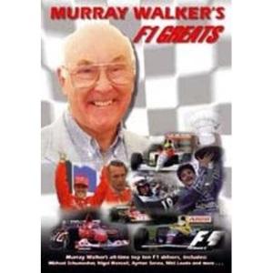 Murray Walker: Top 10 F1 Greats [DVD]