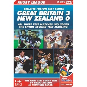 Rugby League - Gillette Fusion Test Series 2007 [DVD]