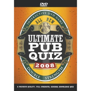 All New Ultimate Pub Quiz 2008 [Interactive DVD]