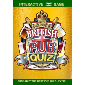 The Ultimate British Pub Quiz [Interactive DVD]